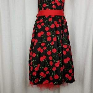 Hearts and Roses Dresses - Hearts and Roses women's rockabilly halter dress